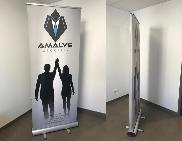 Roll Up recto verso 85x200cm