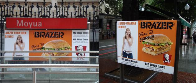 Campagne d'affichage Espagne