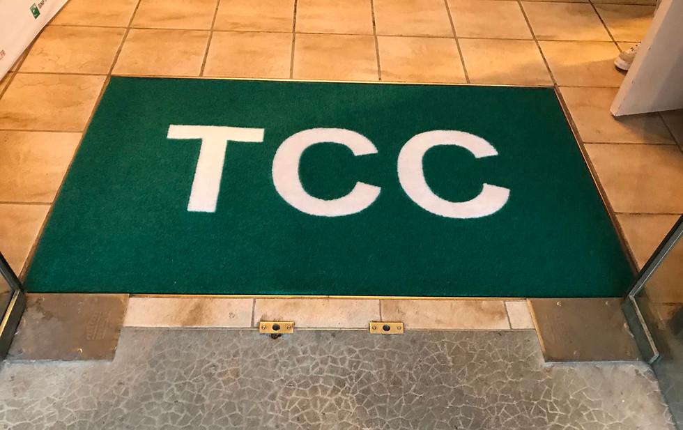 Tapis d'accueil Tennis club Charbonière