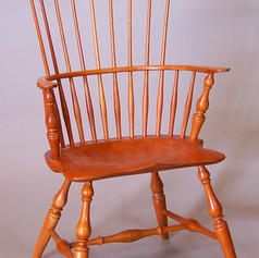 Rams Horn Windsor Arm Chair