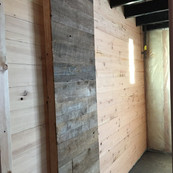 Recalimed Pine Restaraunt Wall