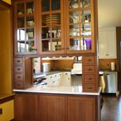 Reclaimed Redwood Kitchen Hutch