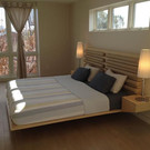 The Floating Ivano Bed