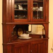 Reclaimed Antique Corner Cabinet