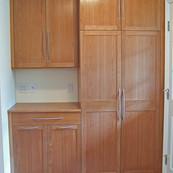 Cherry Utility Storage Cabinets