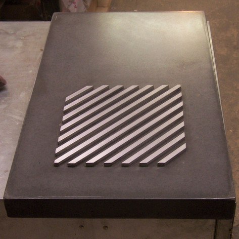Counter with Hot Plate