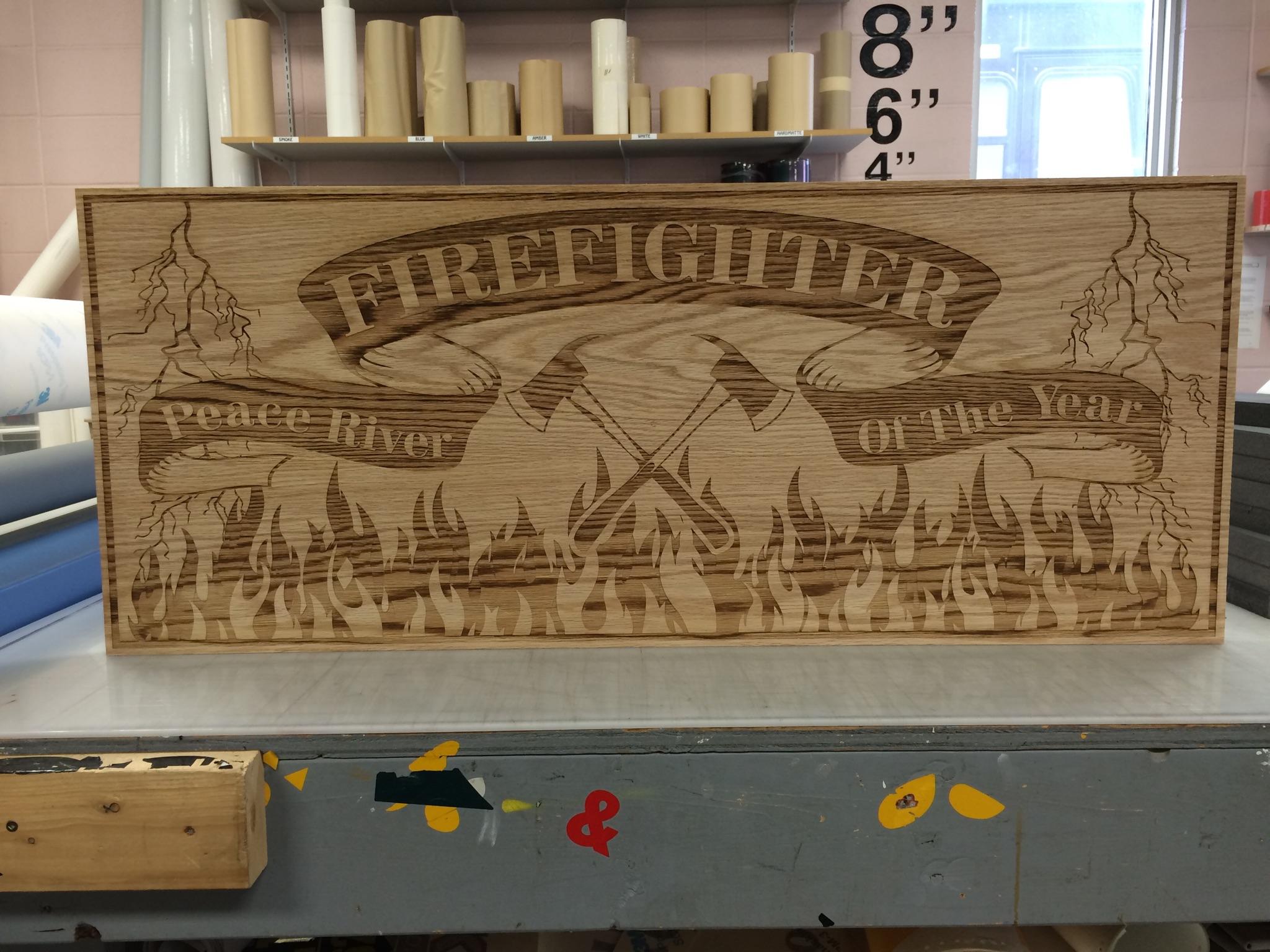 Firefighter Plaque