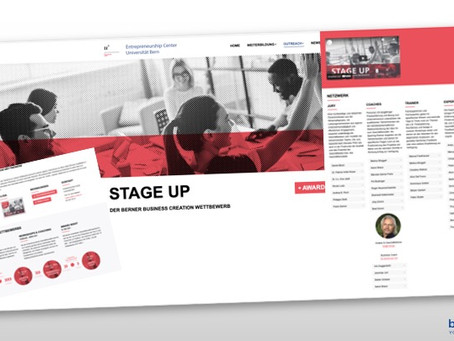 STAGE-UP - BUSINESS CREATION Wettbewerb | Competition, Berne