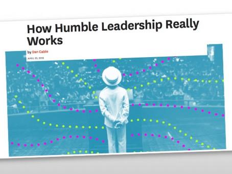 """Humble Leadership"""