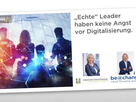 Keine Angst vor Digitalisierung - im Gegenteil: es ergeben sich enorme Chancen!
