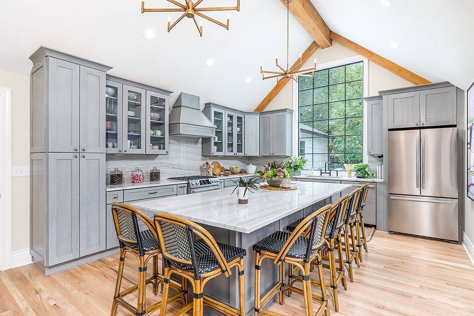 Kichler Lighting and Kitchen Cabinet Kings on HGTV Bargain Mansions with Tamara Day