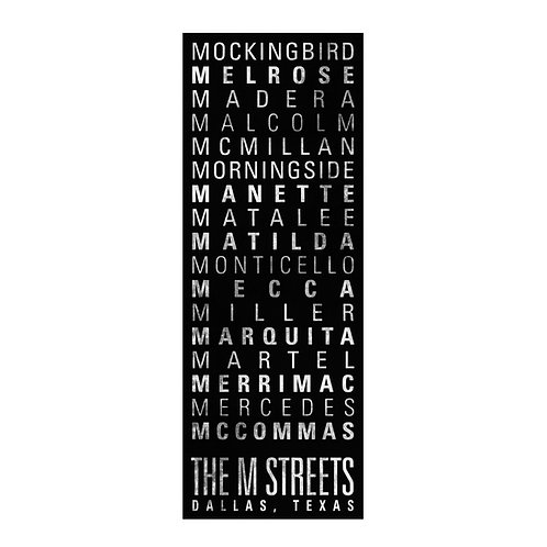 M Street Banner