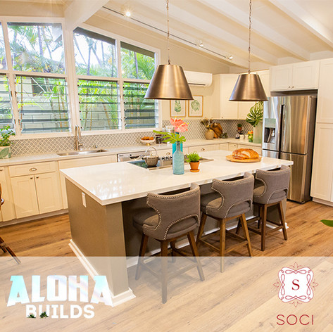 "Soci Tile placed in DIY ""Aloha Builds"""