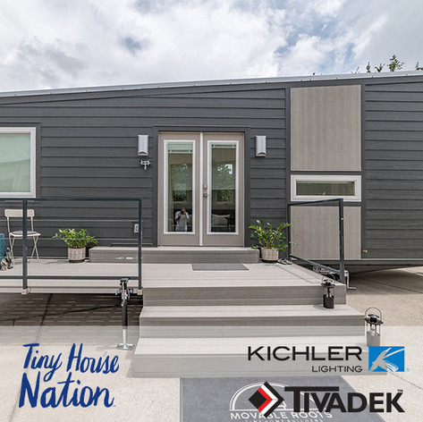 "Forty6Eleven places Kichler Lighting and TIVADEK on ""Tiny House Nation"""