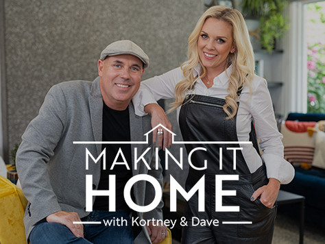 Forty6Eleven places product from Kichler Lighting on 'MAKING IT HOME With Kortney & Dave'