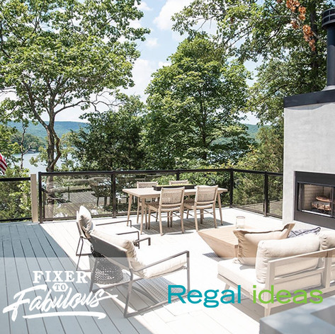 Regal Ideas on HGTV Fixer to Fabulous