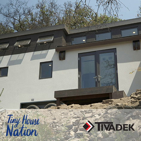 "Forty6Eleven places TIVADEK on ""Tiny House Nation"""