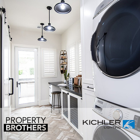 "Kichler Lighting on ""Property Brothers"""