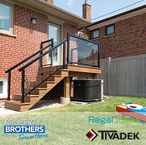 Regal ideas & TIVADEK on Property Brothers: Forever Home #203