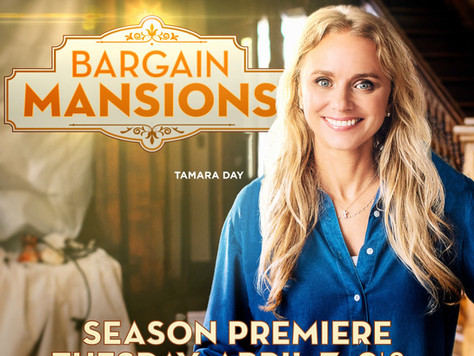 Home decor product placement agency, Forty6Eleven, places its clients on 'Bargain Mansions' on HGTV