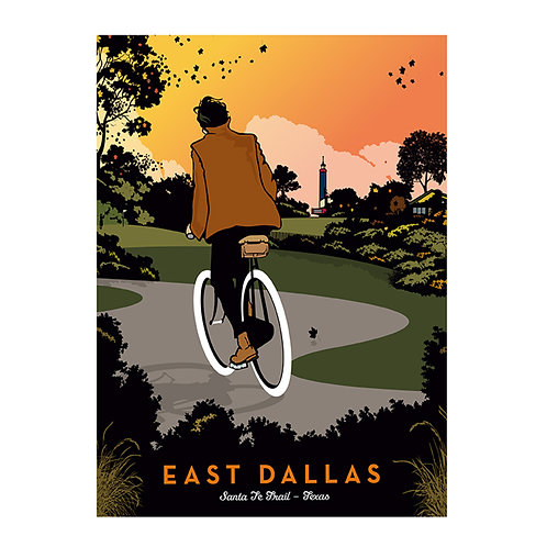 East Dallas Biker