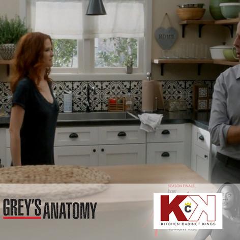 Kitchen Cabinets on Grey's Anatomy