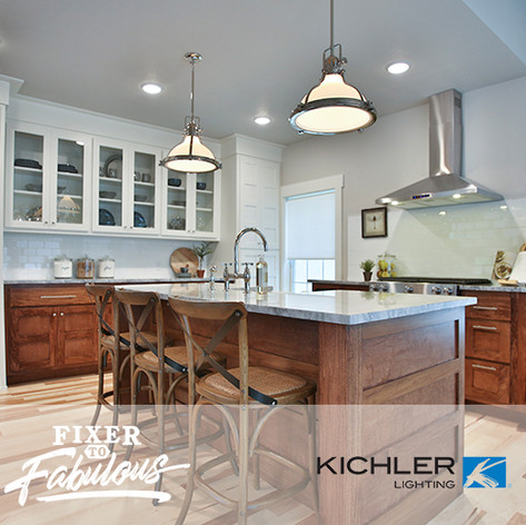 "Kichler Lighting on HGTV ""Fixer to Fabulous"" #105"