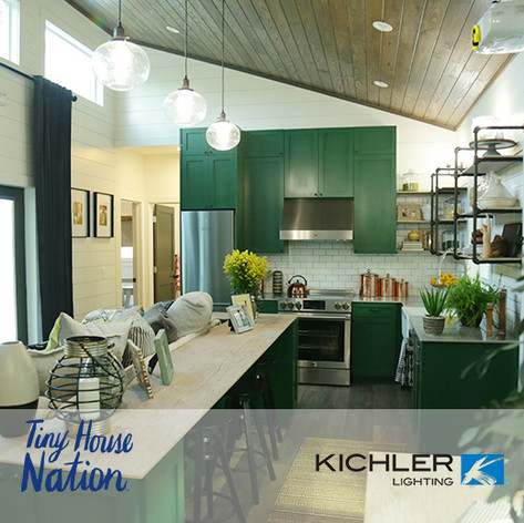 "Kichler Lighting Placed On ""Tiny House Nation"""
