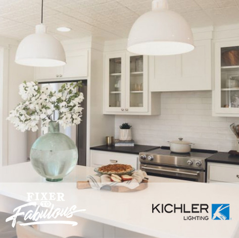 Kichler Lighting on HGTV Fixer to Fabulous