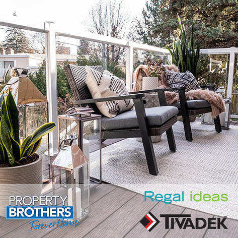 HGTV Forever Home TIVADEK & Regal Ideas