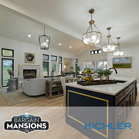 Kichler Lighting on Bargain Mansions #311