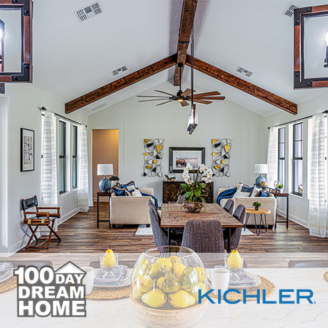Kichler Lighting on 100 Day Dream Home