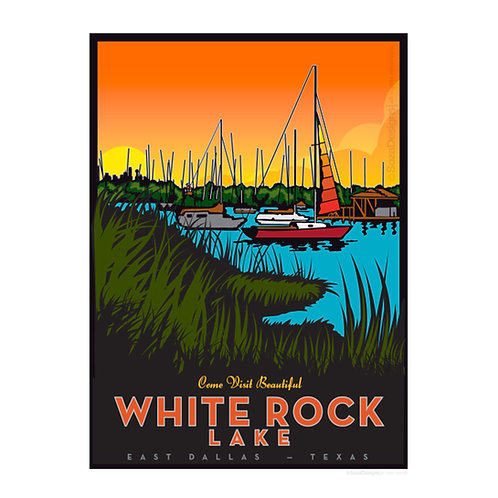 White Rock Lake — Boats