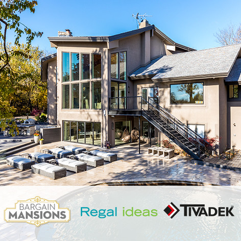 "TIVADEK and Regal Ideas placed in DIY ""Bargain Mansions"""