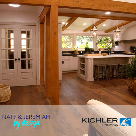 "Forty6Eleven places Kichler Lighting on ""Nate and Jeremiah By Design"""