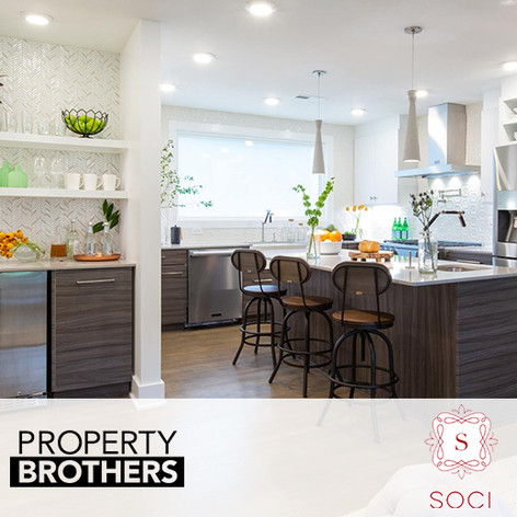 "Soci Tile and Sinks placed in HGTV ""Property Brothers"""
