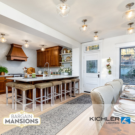 "Kichler Lighting Placed on HGTV/DIY ""Bargain Mansions"""