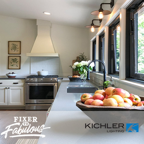 "Kichler Lighting on HGTV ""Fixer to Fabulous"" #109"