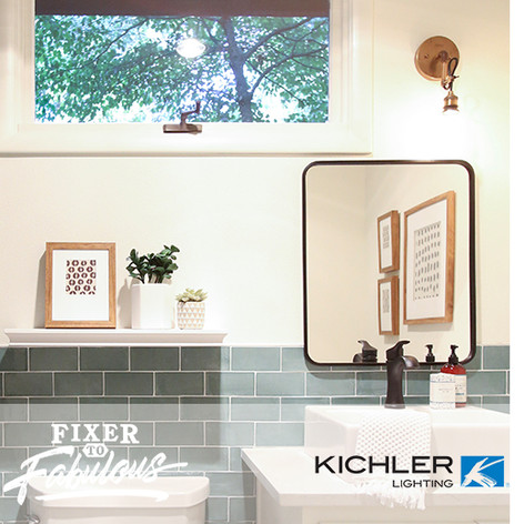 "Kichler Lighting on HGTV ""Fixer to Fabulous"" #108.jpg"