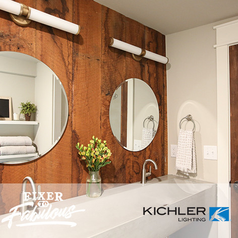 "Kichler Lighting on HGTV ""Fixer to Fabulous"" #107.jpg"