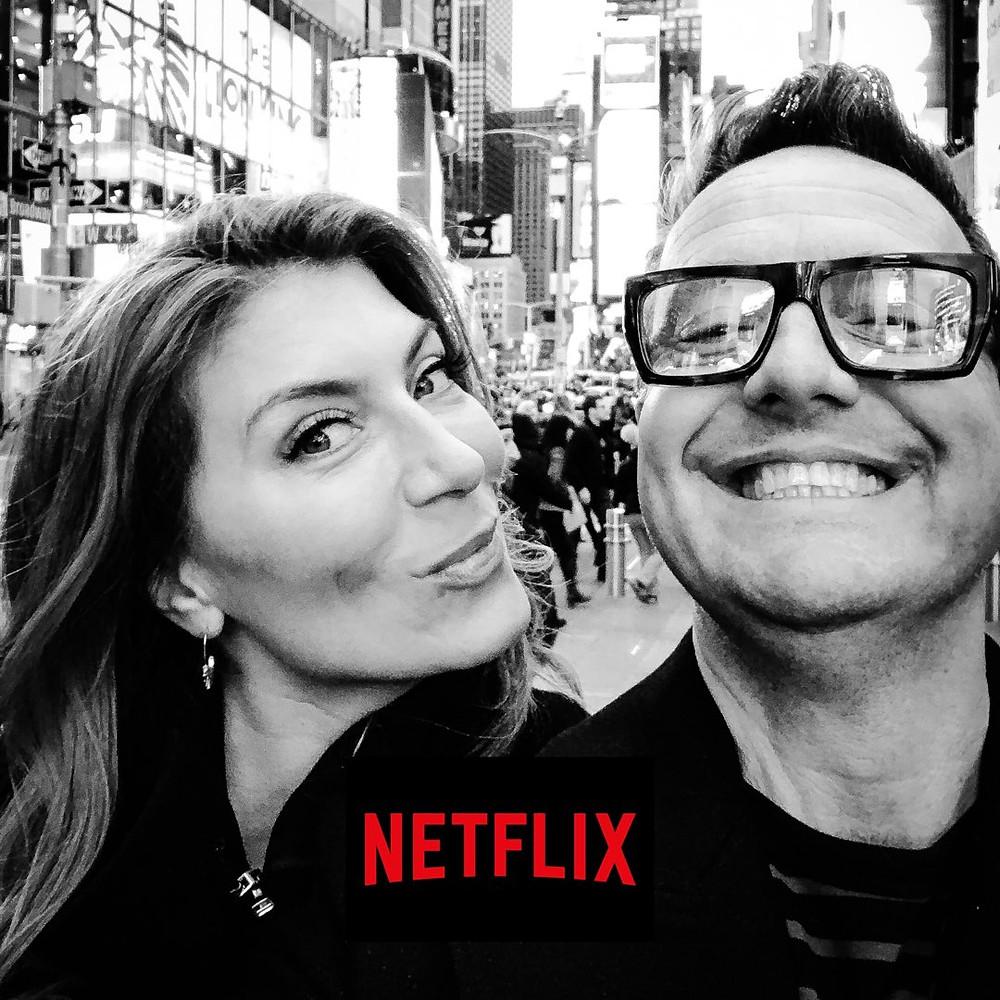 "Genevieve Gorder & Peter Lorimer Netflix ""Stay Here"""