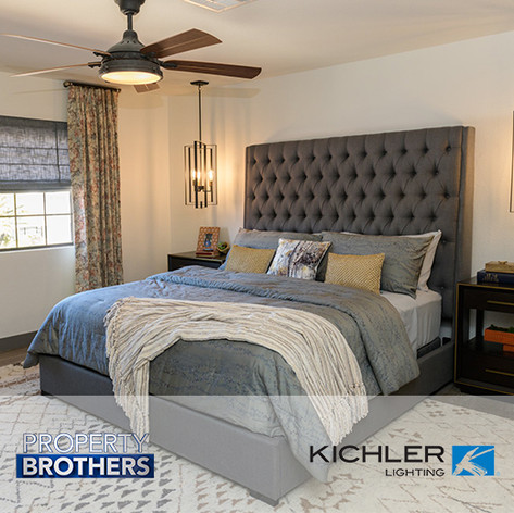"Forty6Eleven secures Kichler Lighting on ""Property Brothers"""