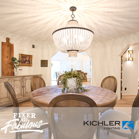 "Kichler Lighting on HGTV ""Fixer to Fabulous"" #106"