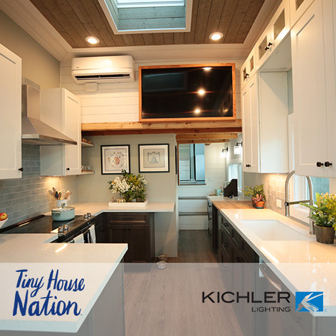"Forty6Eleven places Kichler Lighting on ""Tiny House Nation"""