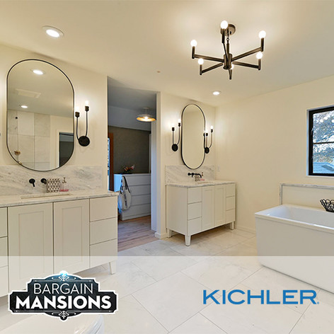 Kichler Lighting on HGTV Bargain Mansions