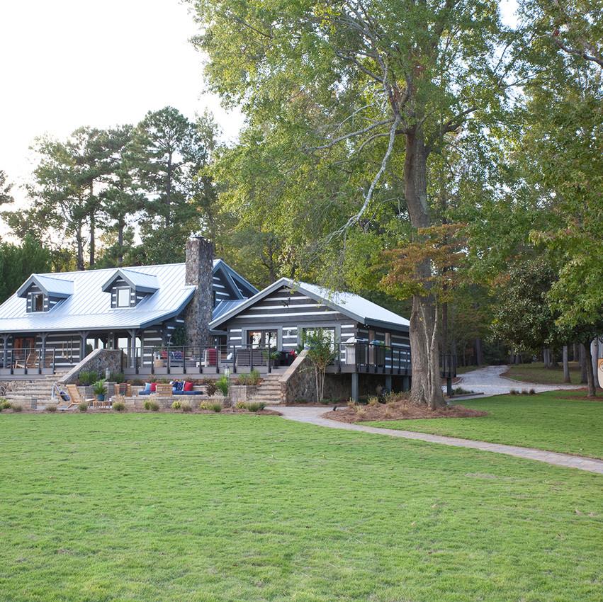 Lake house and Garage