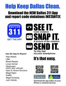 City of Dallas Debuts 311 App