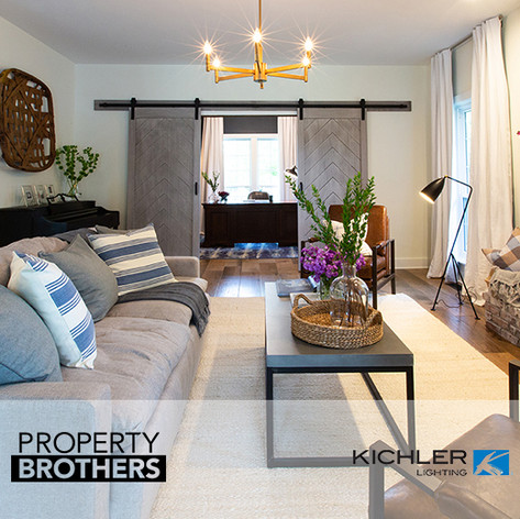 "Kichler Lighting Placed on HGTV ""Property Brothers"""