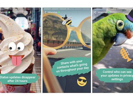 訊息App元祖WhatsApp宣布推出新功能「Status」