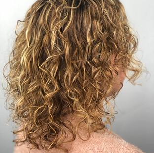 HAIR ECO SALON CURLY HAIR SET